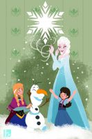 Do you want to build a snowman Lily? by Ihsnet