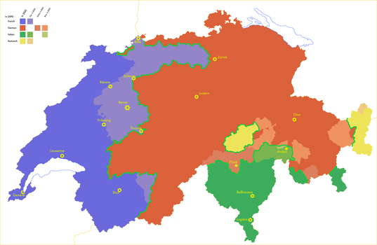 Evo. of languages in Switzerland in the 21st cent. by Tonio103