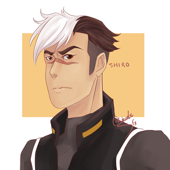 Space Dad Shiro by SunsetFlareX