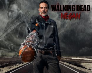 Negan - The Walking Dead by MissSkold