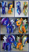 Commissioned Bling MLP Design a Pony(s) by BazSg