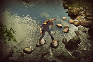 Stepping Stones of Memory by nwwes