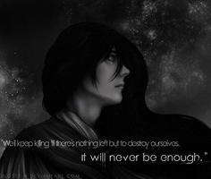 It Will Never Be Enough by VioletRaine