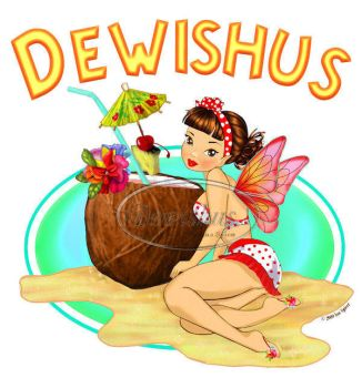Coconut Juice Fairy by Dewishus