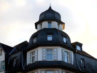 Townhouse roof by PrimeBee1360