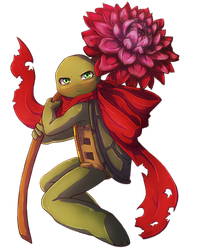 Red Spring Turtle by CutieClovers