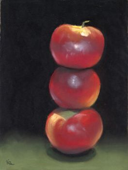 stacked apples by classina