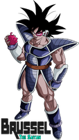 Turles The Wicked by BrusselTheSaiyan