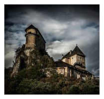 Orava Castle by P1eTru5zka