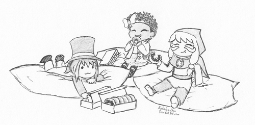 A Hat in Time: Donuts by Natalya-Chan