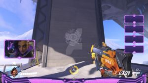 Sombra - Overwatch Overlay by lol0verlay