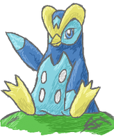 Prinplup - iScribble