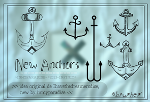 new anchors -brushes- by Inmyparadise
