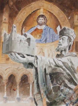 Cathedral of Monreale by sanderus