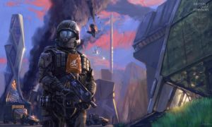 Halo: 405th ODST by LostDecay