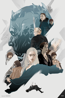 Dame (Game) of Thrones by Aseo