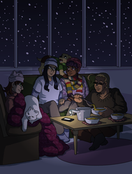 Cold Winter Nights Indoors by ErinPtah