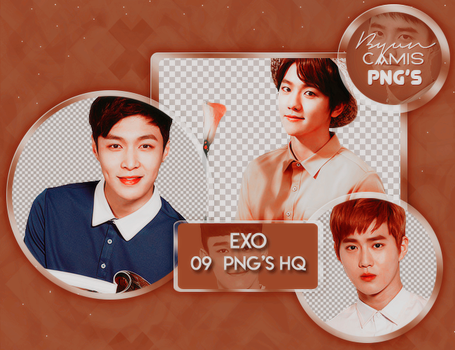 [PNG PACK #94] EXO by fairyixing