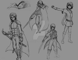 Random Character Designs ~ Set #1 by CaiusNelson