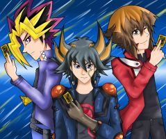 3 legends of yugioh by Zodia2