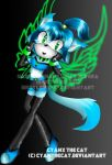 :AT: Cyanx the cat by Vixi-PC