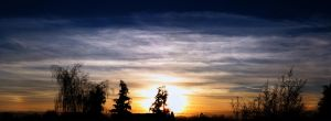 11th January sky 2013 - sundog by Xaeyu