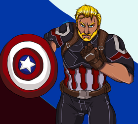 Captain America by DrSnipersMagic