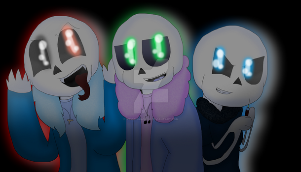 The Crazy, The Evil, and The Psycho [+ SpeedPaint] by cjc728