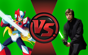CFC|Megaman Zero vs. Luke Skywalker by Vex2001