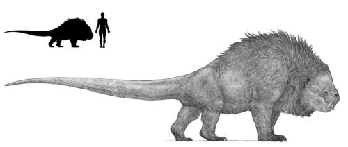 Synapsid beast by Monopteryx