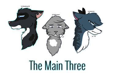 The Main Three by UltimateGamer140