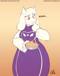 :Commission: Toriel Taste Testing (pt1/2) by NekoCrispy