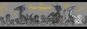 Happy Thanksgiving: 2016 by CoffeeAddictedDragon