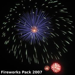 Fireworks Pack 2007 by archaemic