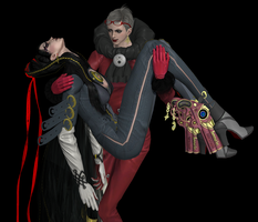 Bayonetta Vanquished 1 by FallenParty