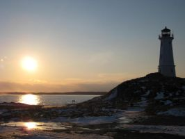 Louisbourg Lighthouse by k1m0s