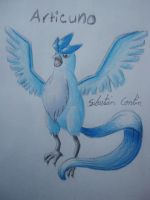 Improved Articuno by Portrait-Puppet