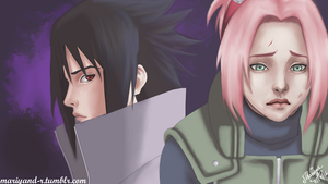 Sasuke and Sakura by Mariyand-R