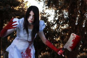 Madness!? Alice Hysteria Mode Cosplay by Shady-Chan