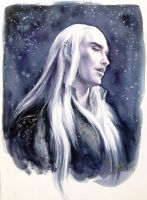Thranduil, king and father by ladysherry