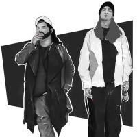 Jay and Silent Bob by CatCurly
