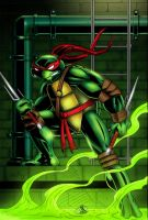 TMNT Raphael Colored by CliffEngland