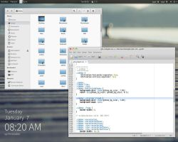 MosLight (Gnome 3.10) by dasnoopy