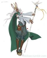 Viera Summoner by kiikii-sempai
