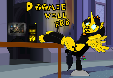 Queen Doomie's BRB Screen (Without Drone) by InsaneSpyro