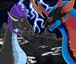 Commission For Stardust-Dragoness by DireRedemption
