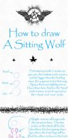 Wolf Tutorial-sitting position by AnarchyWolfKira