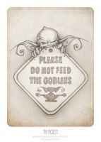 PLEASE DON'T FEED THE GOBLINS! by thePicSees