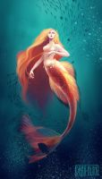 Queen of the sea by Kaizoku-hime