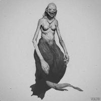 mermaid by Verehin